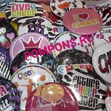 кружки,магниты,банты, значки, аксессуары с принтами и логотипами на заказ