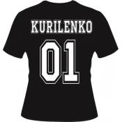 футболка с номером