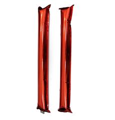 Палки-стучалки метализированные красные, фото 1