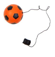 Антистресс футбольный  мяч на резинке, фото 1