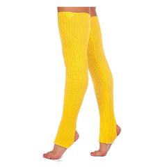 Гетры для танцев 80см желтые, фото 1
