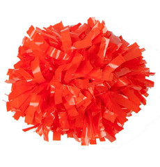 Помпон виниловый оранжевый, фото 1