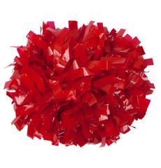 Помпон виниловый красный, фото 1
