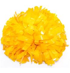 Помпон виниловый желтый, фото 1