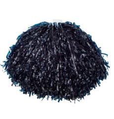 Помпон пластиковый темно синий, фото 1