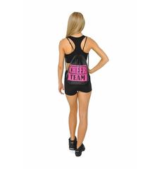 Рюкзак ''Cheer team'' (черный, розовый принт), фото 3