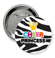 "Значок ""cheer princess"""