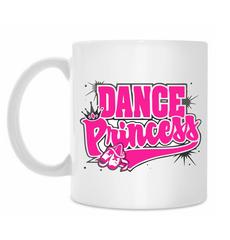 "Кружка белая ""dance princess"""