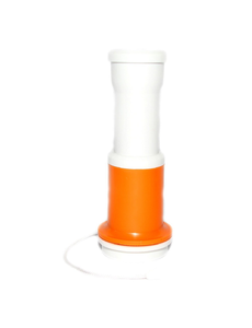 Дудка болельщика бело-оранжевая, фото 1