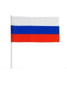 Флаг триколор  30х45см, фото 1