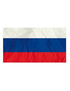 Флаг триколор без древка 90х140см, фото 1