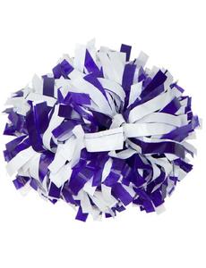 Помпон виниловый фиолетовый с белым, фото 1