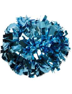 Помпон металлизированный ультрамарин (небесный), фото 1