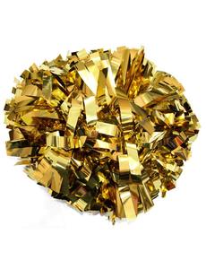Помпон металлизированный золото, фото 1
