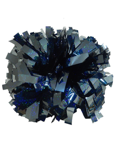 Помпон премиум класса темно-синяя голография, фото 1