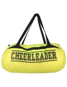 """Сумка """"Cheerleader"""" (лимонная, черный принт), фото 1"""