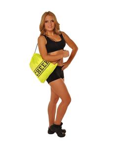 Рюкзак ''Cheer'' (лимоный, черный принт), фото 1