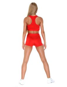 Шорты для танцев на широкой резинке (красные), фото 3