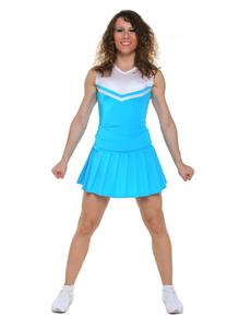 Топ черлидера, модель №1 (голубой с белым), фото 2