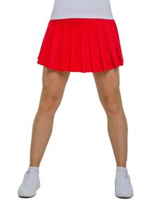 Юбка в складку (красная), фото 1