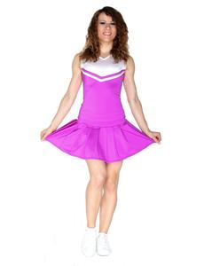 Юбка в складку (фиолетовая), фото 2