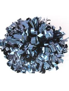 Помпон металлизированный темно-синий, фото 1