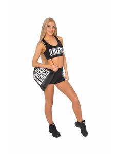 Рюкзак ''Cheer team'' (черный, белый принт), фото 2