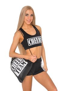 Рюкзак ''Cheer team'' (черный, белый принт), фото 1
