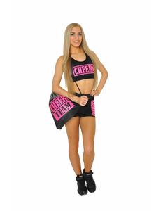 Рюкзак ''Cheer team'' (черный, розовый принт), фото 2