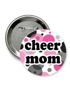 "Значок ""cheer mom"""