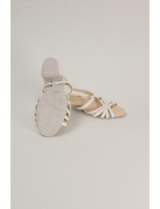 Босоножки 3 см (Россия) белые Басаножки