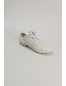Джазовки кожаные  (размеры, 18-27) белые ДКБ