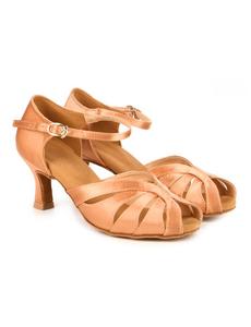 Туфли с каблуком 5 см (размеры 36-42) бежевые С117С