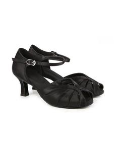 Туфли с каблуком 5 см (размеры 36-42) черные С117С