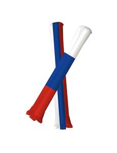 Палки-стучалки флаг России, фото 1