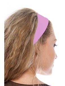 Повязка на голову розовая ak.108.53
