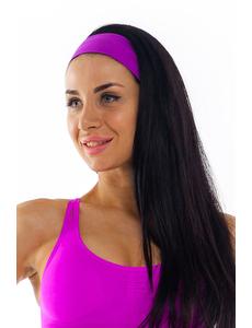 Повязка на голову фиолетовая ak.108.57