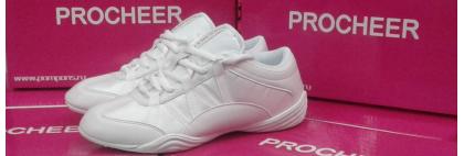 белые кроссовки для черлидинга и аэробики